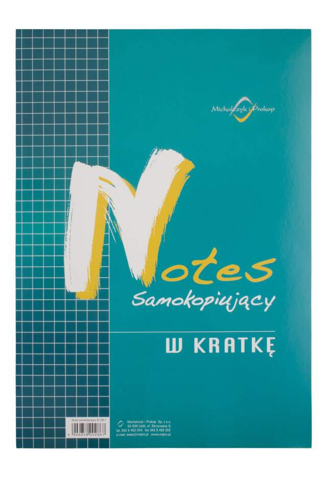 Notes Samokop. A6 40k Kratka N-105-5 /MiP
