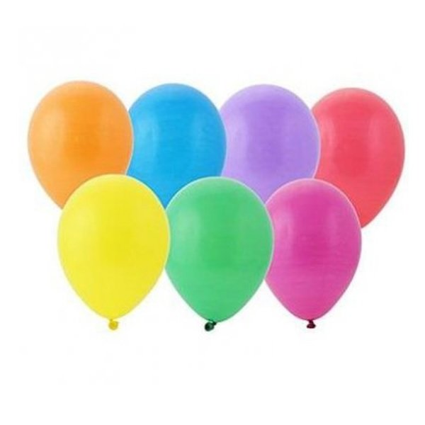 "Balon Pastel 12"" Mix A'100 /Fiorello"