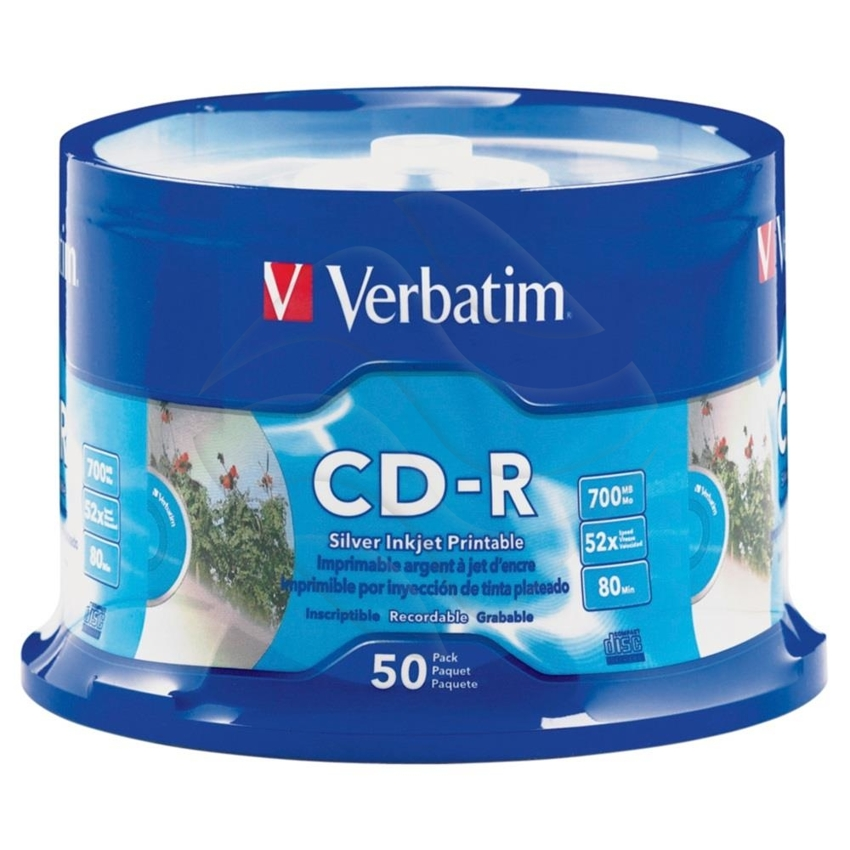 Cd-R Verbatim A'50 Do Nadruku