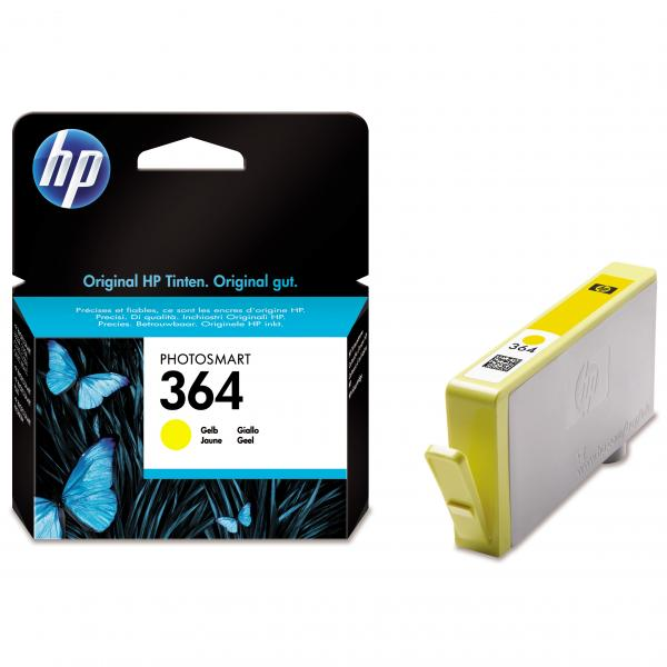 HP 364 [CB320EE] 5510/6510/7510/C5380/D5460 Yellow (Oryg.)