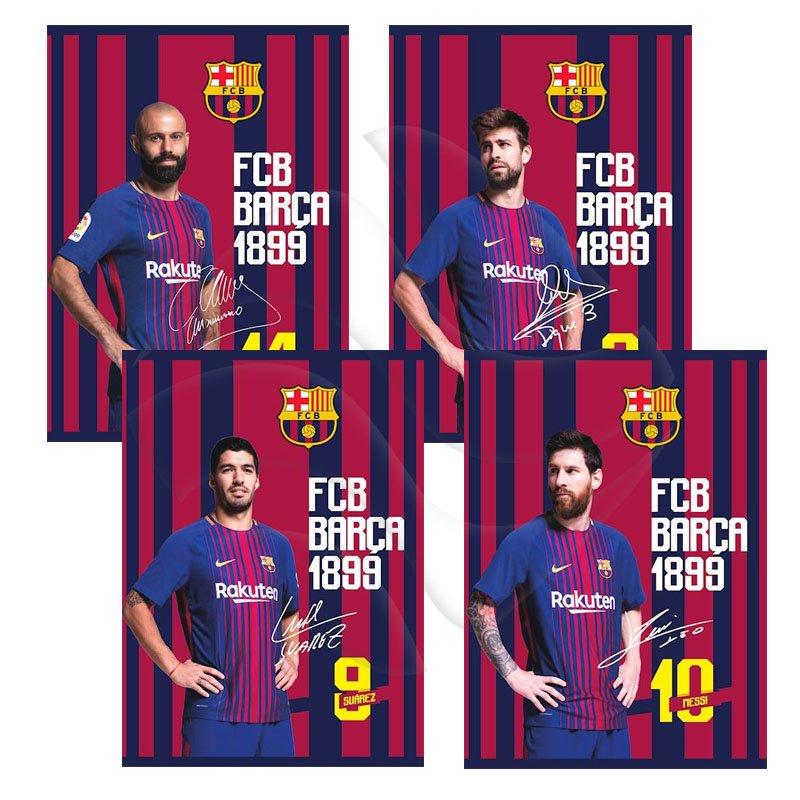 2f011d8c0 Zeszyt A5 60k Kratka MO FC Barcelona Barca Fan 6 /Astra 102018007 ...