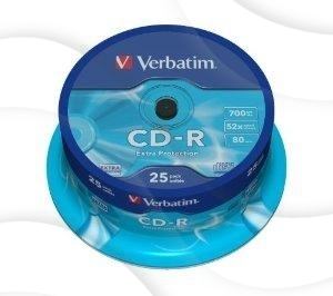 Cd-R Verbatim A'25 Do Nadruku